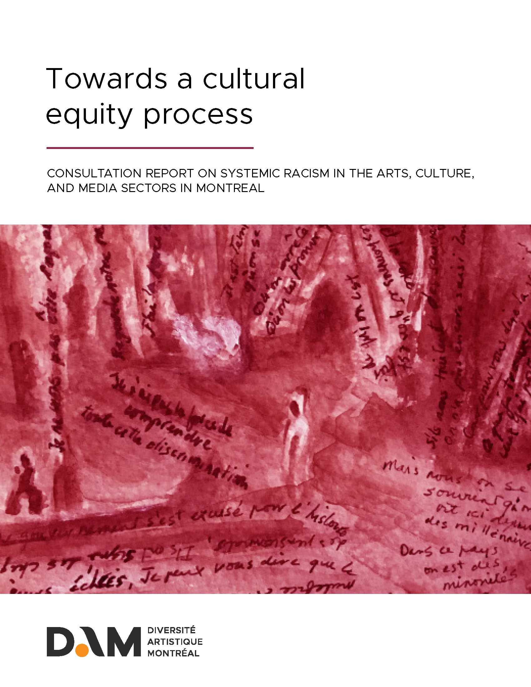 towards a cultural equity process systemic racism dam diversite artistique montreal 2018